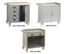 "36"" MOBILE BENCH CABINETS"