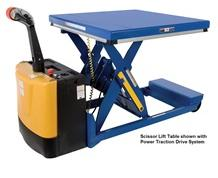 PORTABLE SCISSOR LIFT TABLE OPTIONS